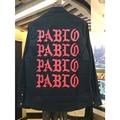 Pablo shirts I feel like Paul Kanye West The Life Of Pablo black red shirt Brand camisa masculina hip hop yeezy clothes