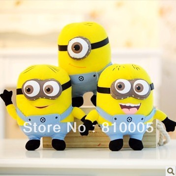novelty plush toys lovely despicable me christmas gifts 3d eye minion rush - Minion Rush Christmas