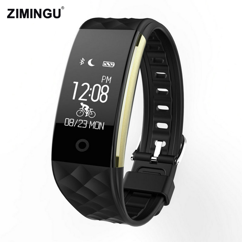S2 Smart Bracelet Fitness Tracker IP67 Waterproof Bracelet Smart Band Heart Rate Wristband For Android iOS