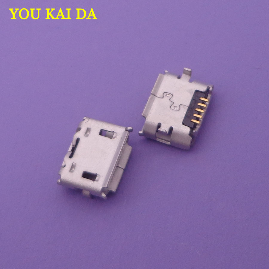 30pcs/lot NEW Micro USB jack Connector Socket For Asus Transformer FE170CG K012 FONEPAD7 FE170 / For <font><b>HTC</b></font> <font><b>HD2</b></font> <font><b>T8585</b></font> G10 image