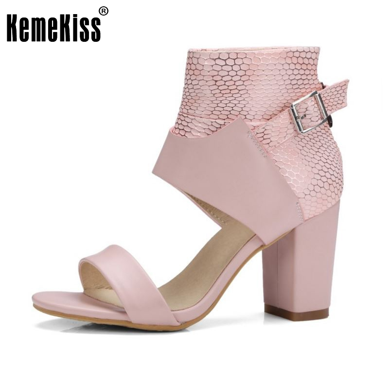 kemekiss size 32 42 ladies high heel sandals ankel wrap. Black Bedroom Furniture Sets. Home Design Ideas
