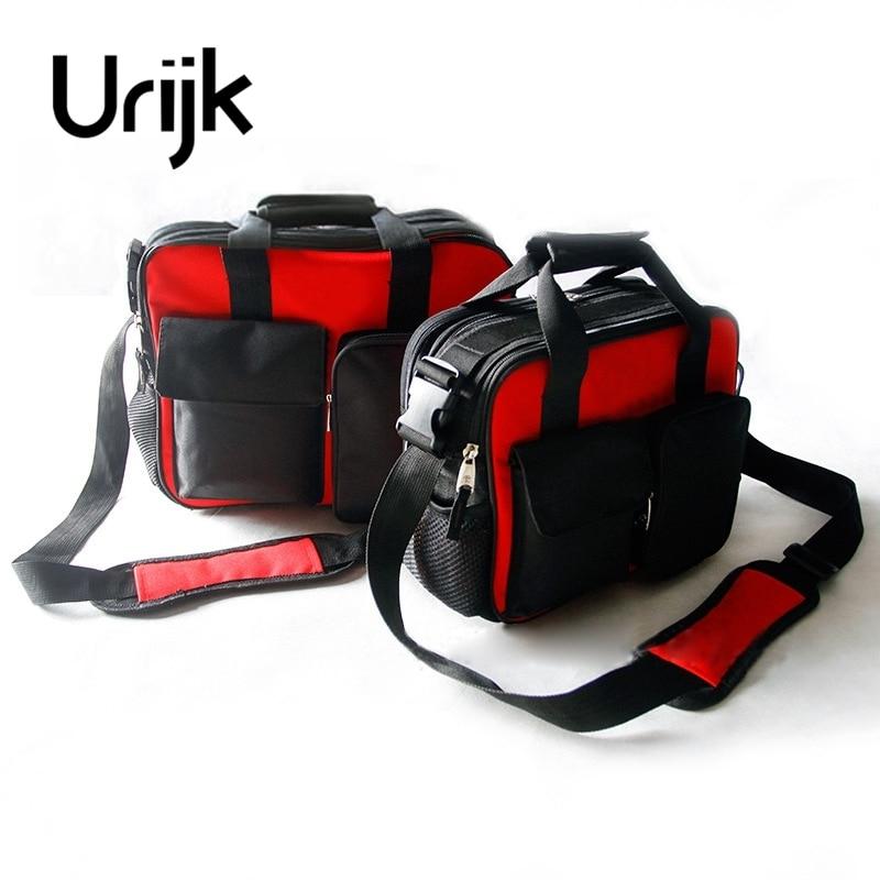 Urijk 2Size Oxford Tool Bag Multifunction Network Repairing Set Waterproof Wearable Buckle Strap Thickening Reinforced Handle