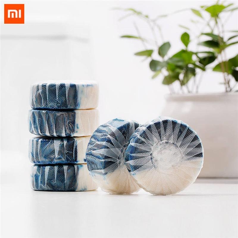 Considerado Xiaomi Limpio-n-fresco De Doble Efecto Desodorizante De Limpieza Baño Bloque Independiente Soluble En Agua-embalaje De La Película Aniónicos Activo Fac