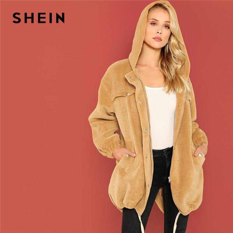 Aliexpress.com: Comprar SHEIN albaricoque Casual botón y