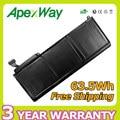 "Apexway 63.5wh 10.95 В аккумулятор для ноутбука Apple MacBook Pro 15 ""Pro 17"" + Отвертка A1331 A1342 MC207 MC516 M661-5391"