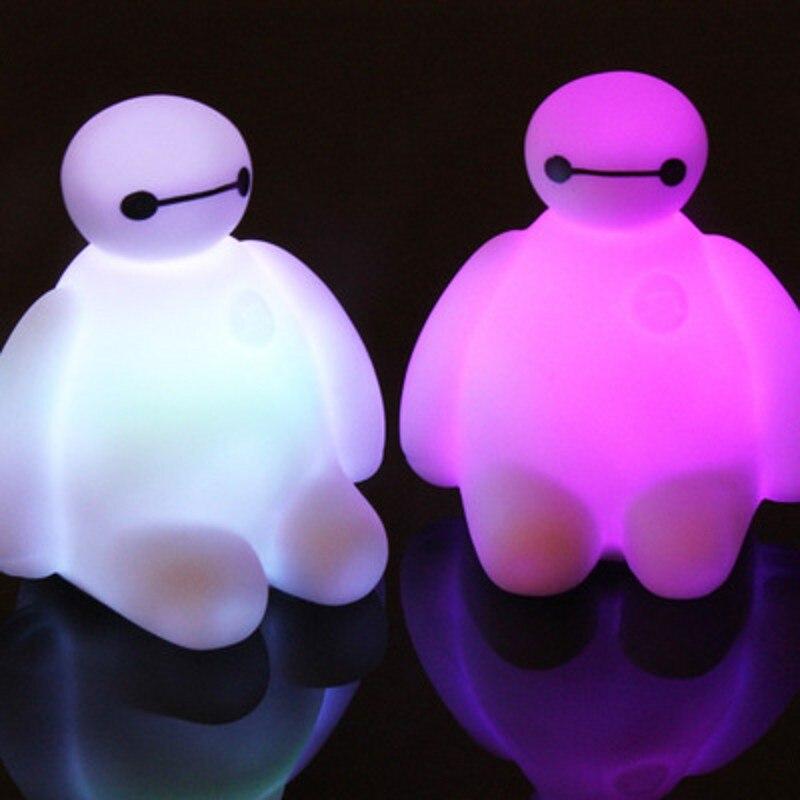 FENGLAIYI 1/5/10 шт. мини милый мультфильм RGB светодиодный ночник ребенок best подарок Home Decor малыш сна ночник для детей ...
