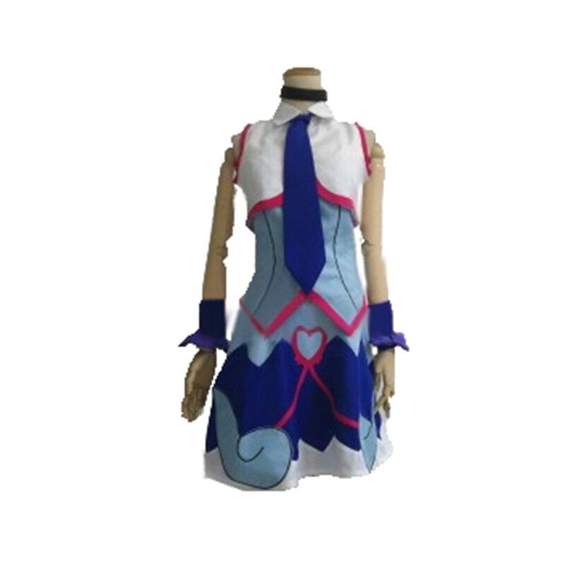Yu-gi-oh! Vrains Yu Gi Oh Zaizen Aoi Cosplay Costume avec des chaussettes