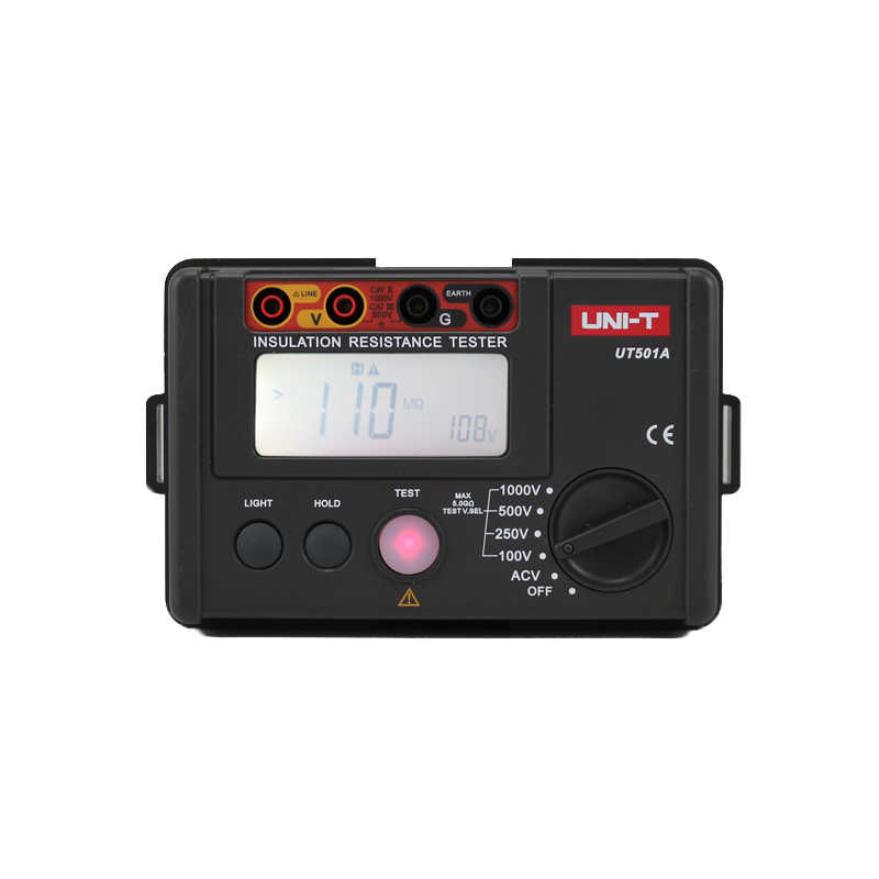UNI-T UT501A 1000V Aislamiento Tierra Tierra Resistencia Mult/ímetro Volt/ímetro Probador