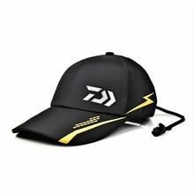 새로운 여름 daiwa 모자 야외 낚시 모자 야구 모자 솔리드 야외 통기성 코튼 다이와 낚시 모자 힙합 팝 야구 모자