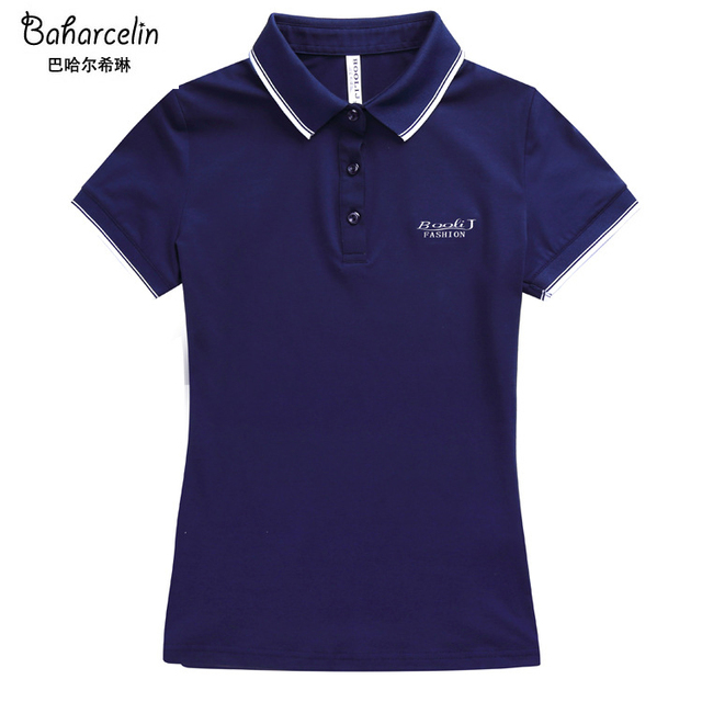 Big Size Solid Color Polo...
