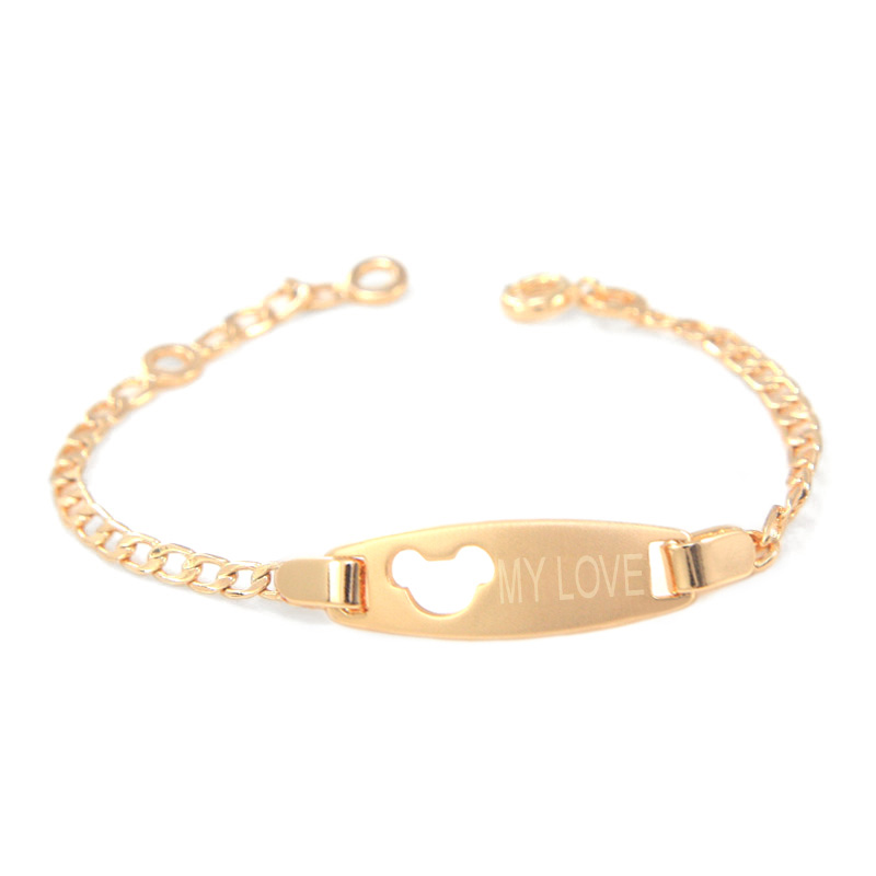 165mm Baby Bracelet Bebe Pulsera Kids Jewelry Bracelets Bangle ...