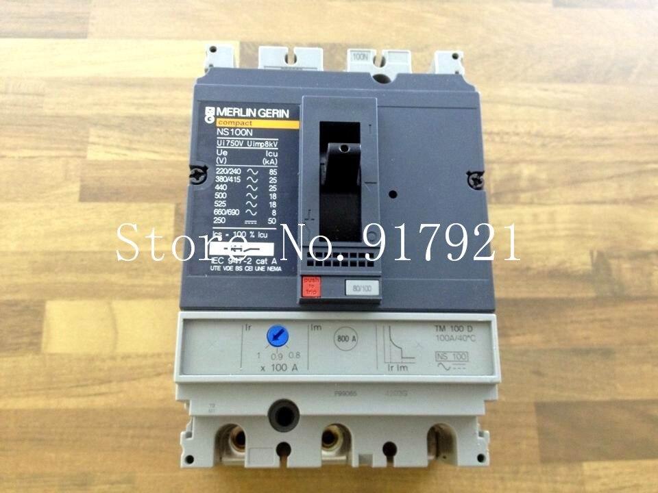[ZOB] Import original NS100N air switch 3P100A circuit breaker (ensure genuine original)
