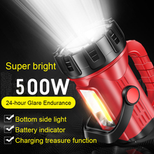 цена на USB Rechargeable Flashlight charging long-range 2000 super bright multi-function xenon portable searchlight for outdoor camping