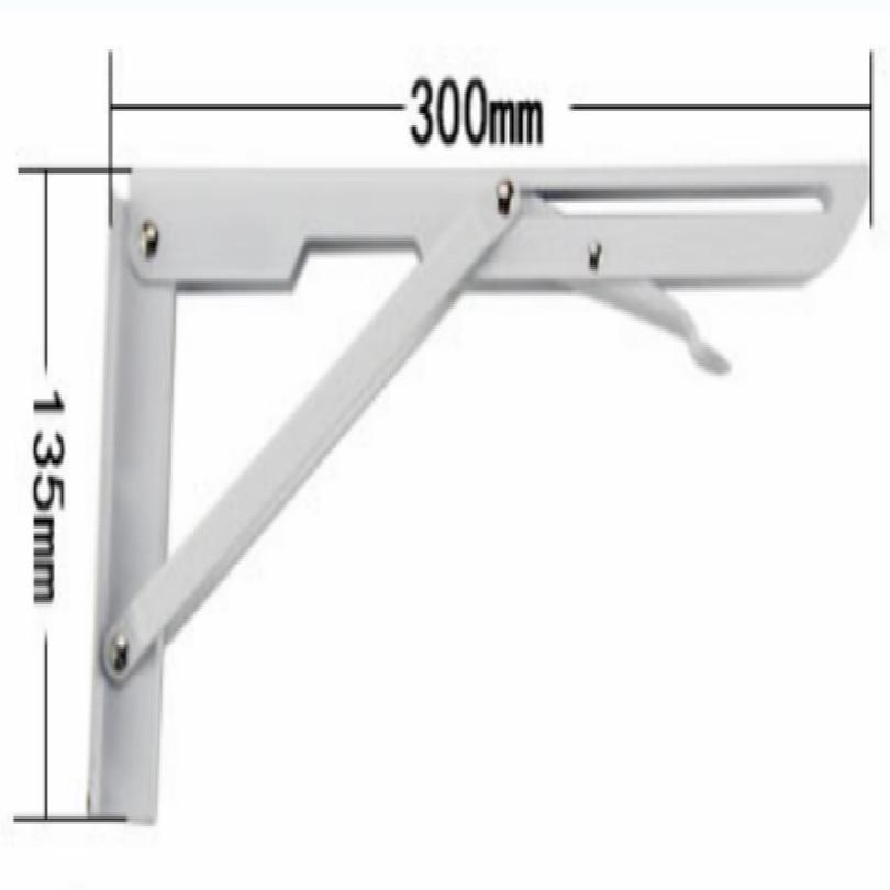 Сделай Сам, стальная стойка для журнального столика, кронштейн для журнального столика, держатель для кафе, длина 25 см, 30 см, 35 см, 40 см, поддержка 80 кг - Цвет: L 30CM