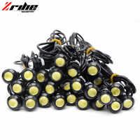10 piezas accesorios moto rcycle Luz de señal de giro 18mm ojo de águila coche moto luz trasera para honda sombra bicicleta de tierra s1000cr suzuk