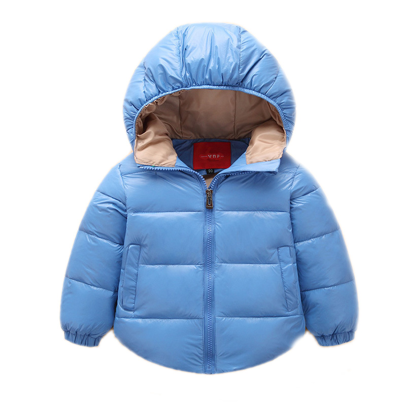 2017 New baby boy clothes boy winter jackets hooded thicken boy winter coats white duck down