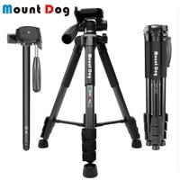 MountDog Tripod 70'' Professional Portable Travel Aluminium Camera Tripod Accessories Stand with Pan Head for Canon Dslr Camera
