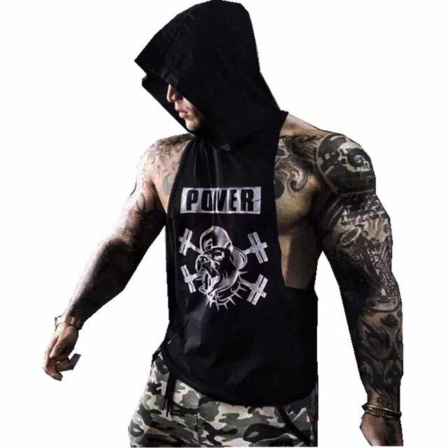 Capuche Homme Hoodies Bodybuilding Stringer À Musculation B8PXxP