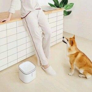 Image 2 - Xiaomi Xiaowan לחיות מחמד מתקן מים כלב חתול חשמלי שתיית קערת מזרקת אוטומטי חתול מים חיים 2L להתחבר חכם MIJIA APP