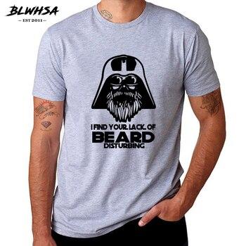 Camiseta BLWHSA I Find Your Lack Of Beard, camiseta estampada, informal, de algodón, película de Hip Hop, camiseta con eslogan Popular, ropa