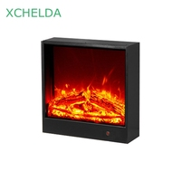 XCHELDA Living Room Decorative Fireplace Without Heater 110V 220V 10W Various Standard Plugs