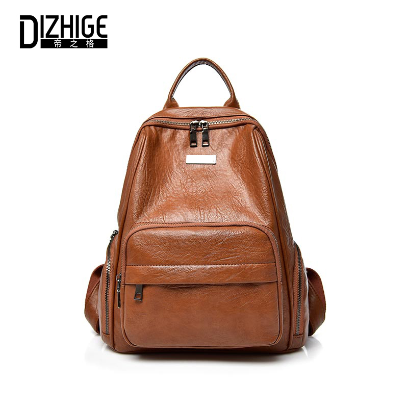 For, Brand, Elegant, Schoolbag, Female, Backpacks