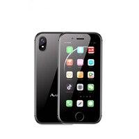 Original Anica i8 Mini Smartphone Android 6.0 2.45 WCDMA 3G CellPhone WiFi GPS Speaker Celulares Mobile Support Google Store