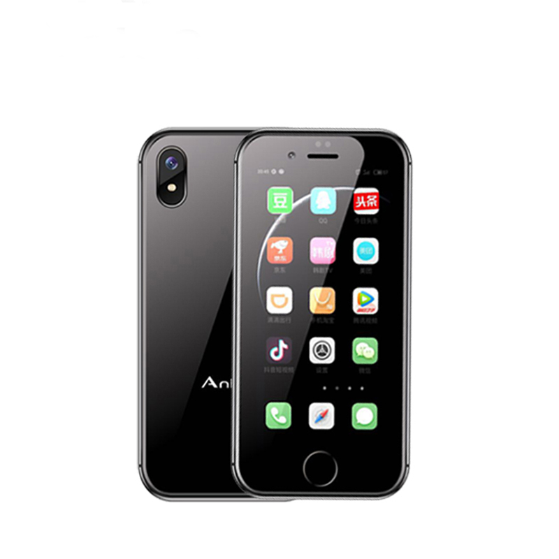D'origine Anica i8 Mini Smartphone Android 6.0 2.45 WCDMA 3g Téléphone Portable WiFi GPS Haut-Parleur Celulares Support Mobile Google magasin