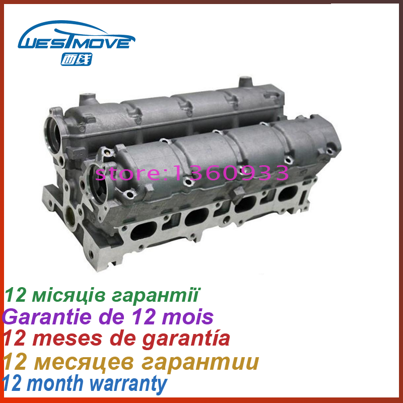 cylinder head for Fiat Brava Bravo Marea Multipla Palio Siena Stilo Doblo cargo 1596cc 1.6L DOHC 16V 2000- ENGINE : 182B6.000 turbo cartridge chra for alfa romeo 147 for fiat doblo bravo multipla 1 9l m724 gt1444 708847 708847 5002s 46756155 turbocharger