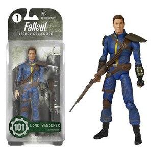 """Image 4 - 2 Màu Fallout 4 Nhựa PVC 8 """"Công Suất Giáp Ra Khỏi Quần Áo Đồ Chơi Quà Tặng Bộ Sưu Tập Hiển Thị Brinquedos Cho người Hâm Mộ Kid"""