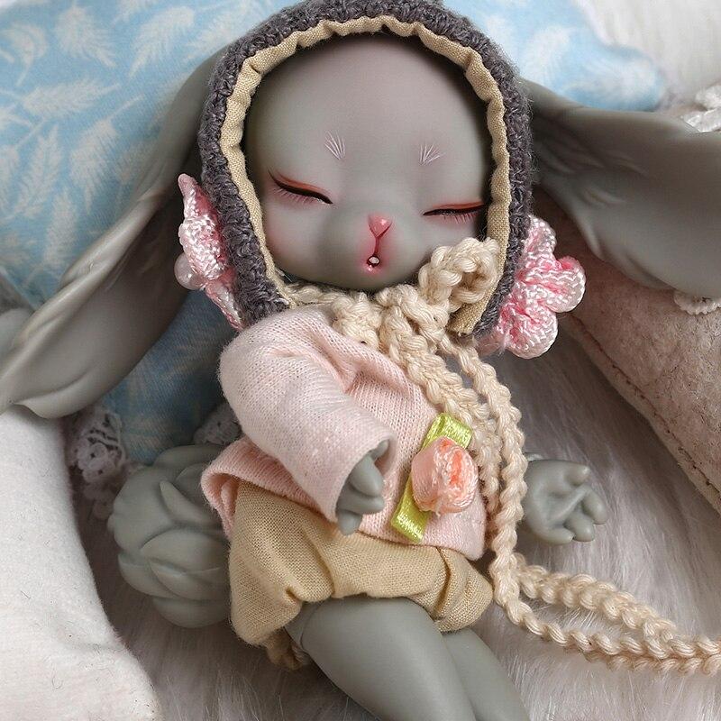 Dollsoom Leepy 1/8 Bjd YOSD Doll Rabbit Version Model Baby Girls High Quality Toys For Birthday Xmas Fashion Joint Doll 1/3 BJD