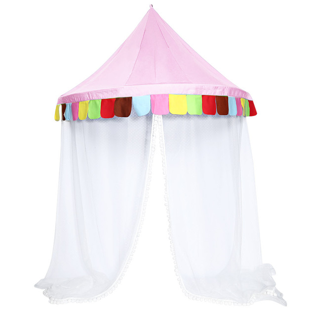 Hanging Bed Canopy Kid Infant Boys Girls Princess Canopy Bed Valance Play Tent Valance Baby Bed  sc 1 st  AliExpress.com & Hanging Bed Canopy Kid Infant Boys Girls Princess Canopy Bed ...