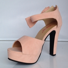 Peep Toe High Heel Platform Sandals