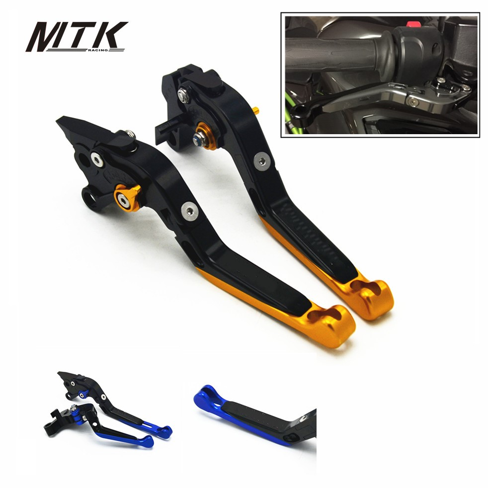 MTKRACING For Yamaha YZF R1 R6 CNC Folding Extendable Motorbike Brake Clutch Levers R6S CANADA VERSION R6S EUROPE VERSION 2006 стоимость