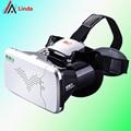Chegada nova ritech riem 3 vr óculos de realidade virtual 3d cabeça Montado Headset Teatro Privado para 3.5-6 polegadas smartphones