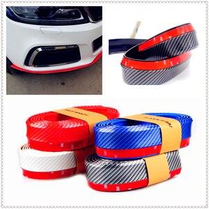 Tira de parachoques de goma para coche 2,5 m maletero frontal para Infiniti EX35 G35 EX Q45 M45 M35x M35 FX45 Kuraza emerg-e ethera EX30d