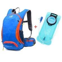 15L Wasserdichte Fahrrad Rucksack mit wasser tasche MTB Rucksäcke Reiten Rucksack Fahrt pack mochila männlich reisetasche