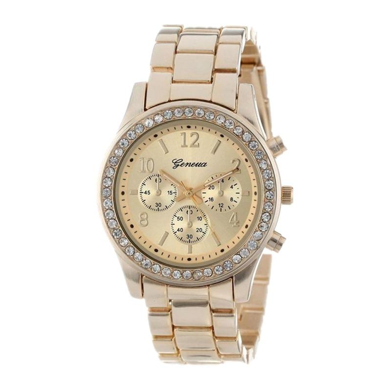 Geneva Classic Luxury Rhinestone Watch Women Watches Fashion Ladies Watch Women's Watches Clock Relogio Feminino Reloj Mujer #4