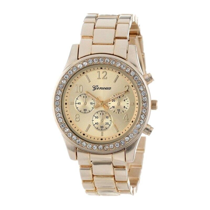 Geneva Classic Luxury Rhinestone Watch Women Watches Fashion Ladies Watch Women's Watches Clock Reloj Mujer Relogio Feminino