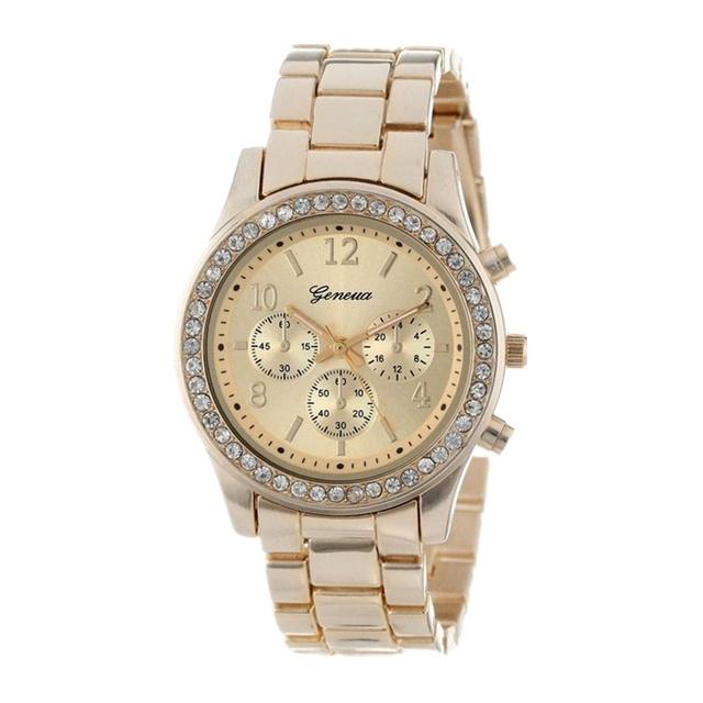 Geneva Classic Luxury Rhinestone Watch Women Watches Fashion Ladies Watch Women's Watches Clock Reloj Mujer Montre Femme