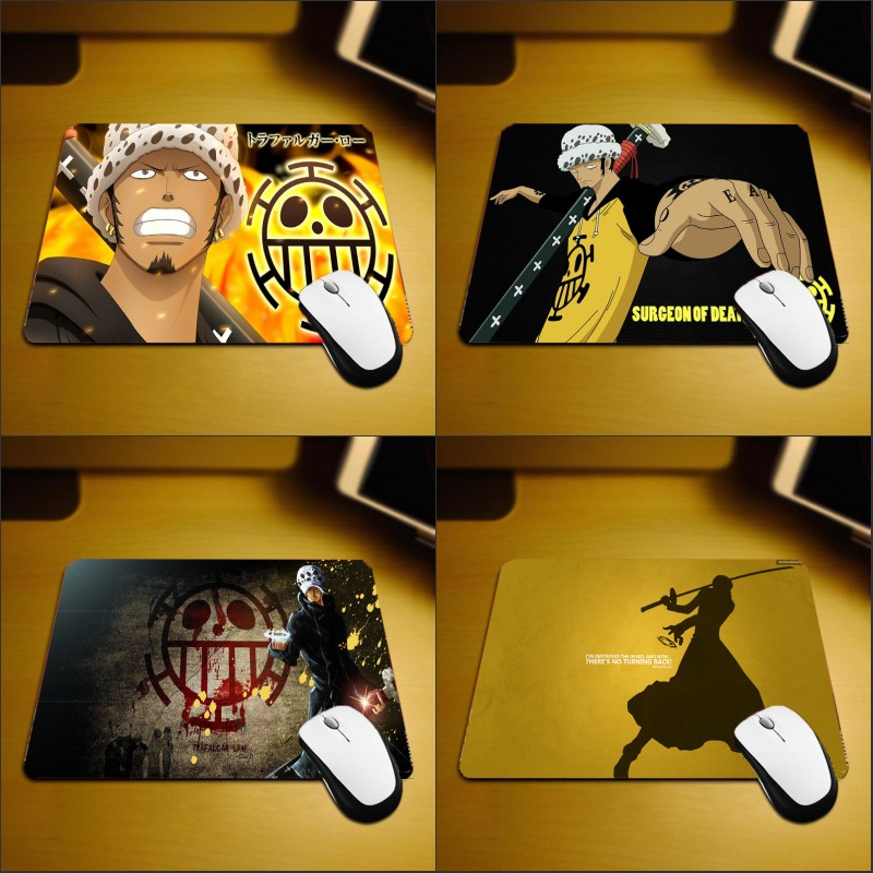 Mairuige Onepiece Demon Fruit Power Hadsome Supernova Trafalgar Law Mousepad Comic Anime Pc Computer Desk Mat for Game Player