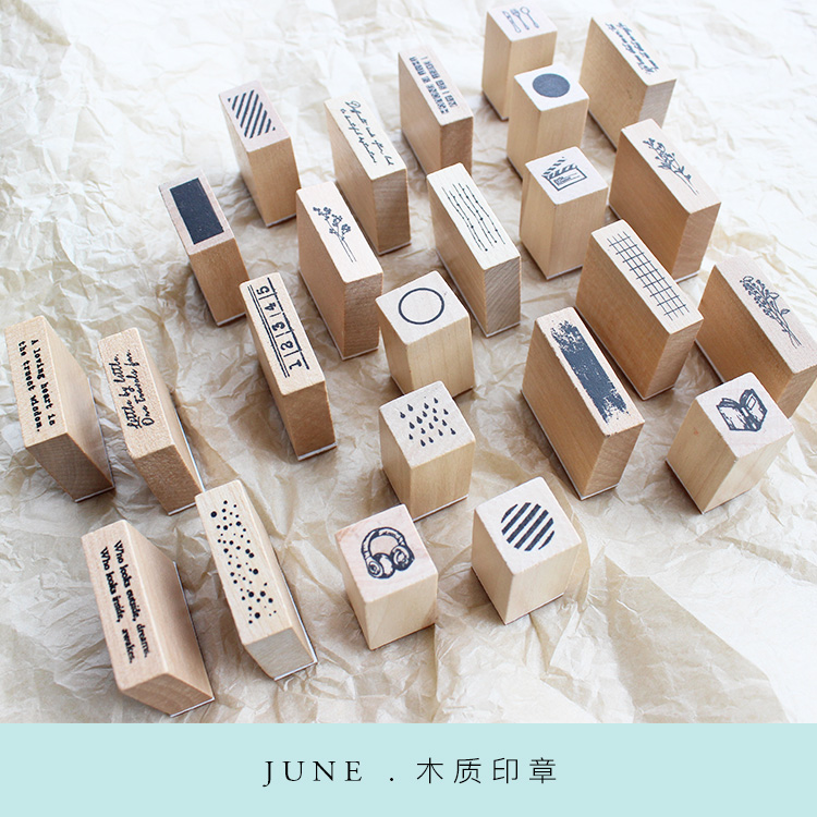 Moodtape Vintage Clear Stamp For DIY Scrapbooking/photo Album Decorative Transparent Stamp Wood Seal Rubber Stamps  Card Making
