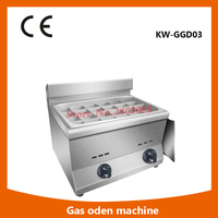 Japanese Style Restaurant Cooker Gas Spicy Food Boiler Oden Machine High Quality Japanese Oden Machine