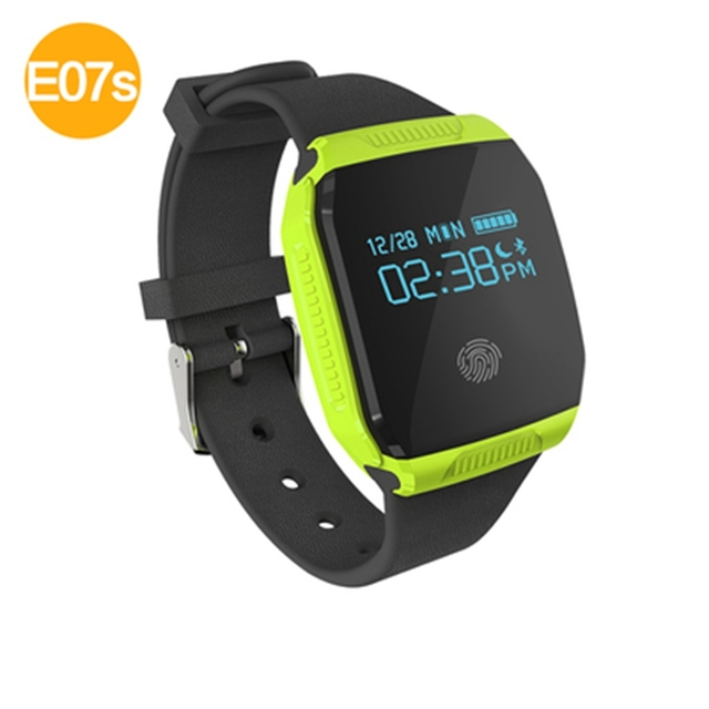 E07S Smart Bracelet IP67 Waterproof With OLED Display Bluetooth 4.0 Sport Smartband PK Mi Band 2 For Xiaomi iPhone Wristband