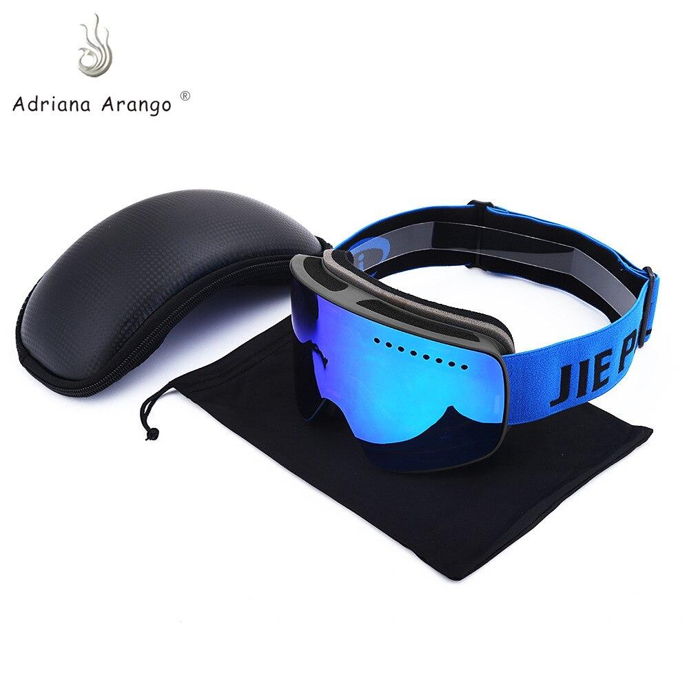 Adriana Arango 2019 Ski Goggles Anti-fog Wind Anti-UV Ski Goggles Skiing Unisex Snow Snowboard Goggles Men And Women Glasses