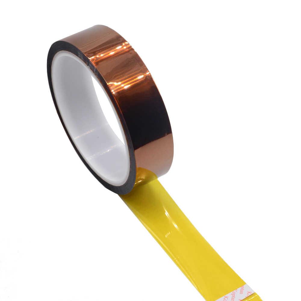 33 M 3mm-12mm 4mm Polyimide טמפרטורה גבוהה חום קלטת תרמית בידוד בידוד דבק דבק קלטת עבור 3D הדפסת לוח