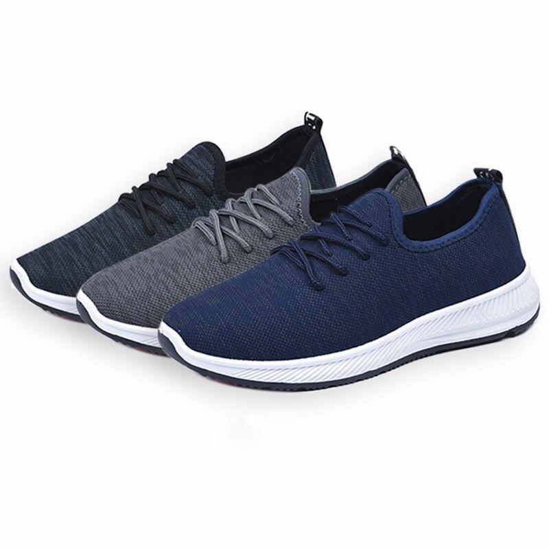 Hommes Homme À Sneakers Mode Respirant Chaussures D'été gris Haute Marine Qualité Pour bleu Casual Noir 2018 Eofk Lacets qUfS4dq