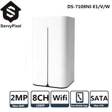 Wi-Fi Surveillance Video Recorder DS-7108NI-E1/V/W 8CH Mini Wi-fi Community Video Recorder P2P Help HDD Quota Mode HDMI