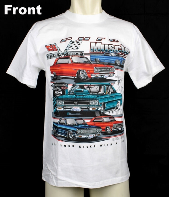 0ffb4a98 Original Chevrolet Chevy Malibu El Camino Chevelle 396 SS Muscle US Car T-  Shirt