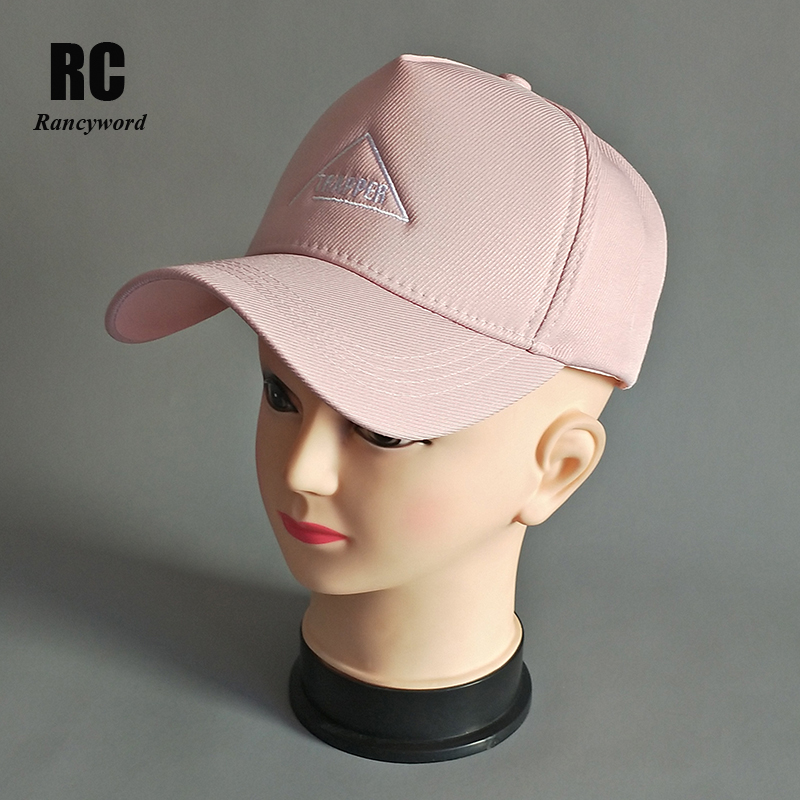 [Rancyword] Brand Baseball Caps For Women Casual snapback cap hat Hip Hop Homens Casquette Letter Embroidery Cap 2018 New RC2018 [yarbuu] 2016 new cotton letter brand baseball cap men and women snapback do old motorcycle hat 8 colors hip hop jeans caps